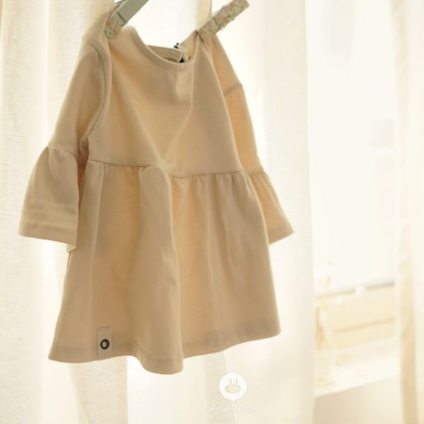 Arim Closet light beige shirring baby T