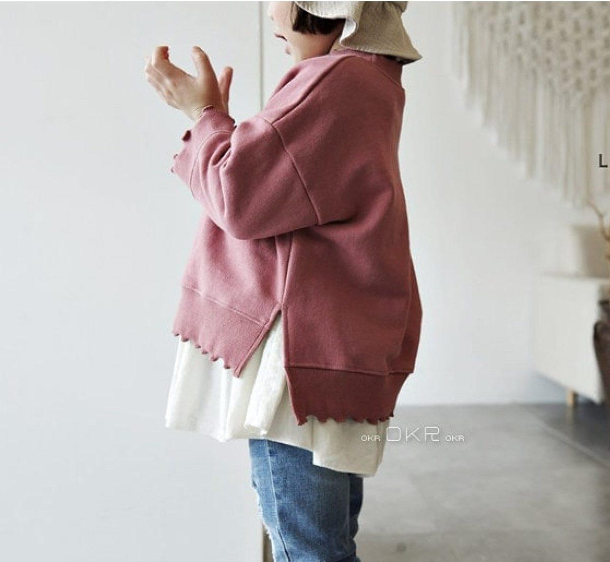 Inter Frill Tee   Korean Kids Clothes - Imaryakids