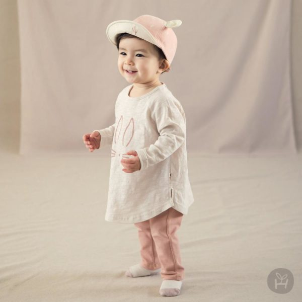 Rain bonny Tee - Cream | Korean Kids Clothes - Imaryakids
