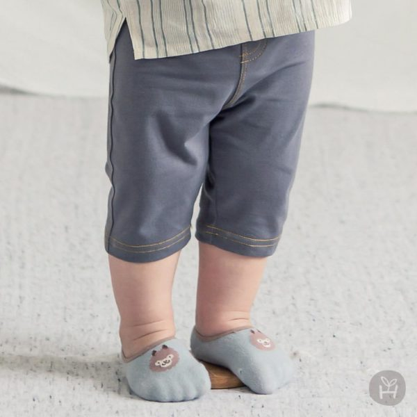 Samuel Jeggings - Charcoal | Korean Kids Clothes - Imaryakids