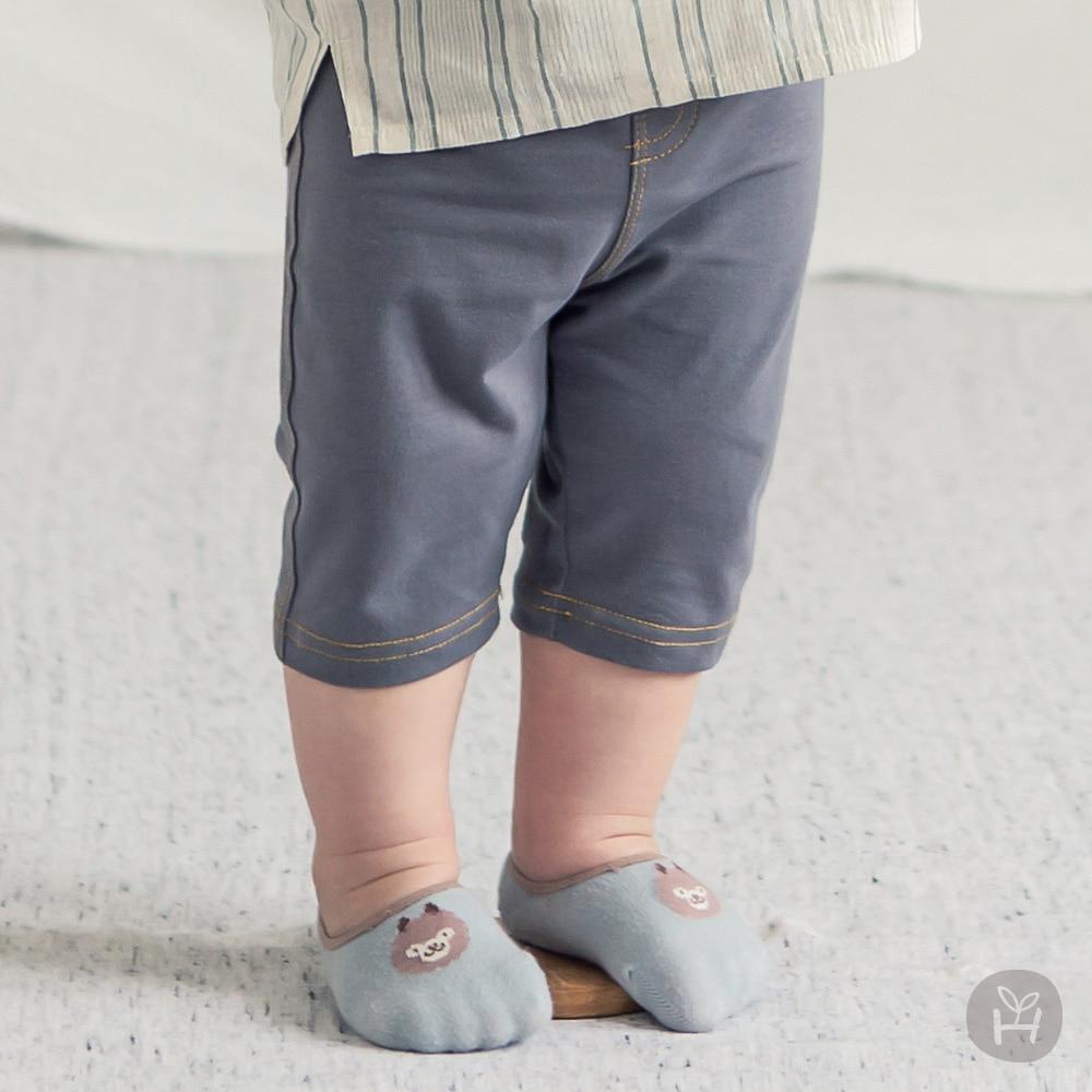 Samuel Jeggings - Charcoal | Korean Kids Clothes - Imaryakids