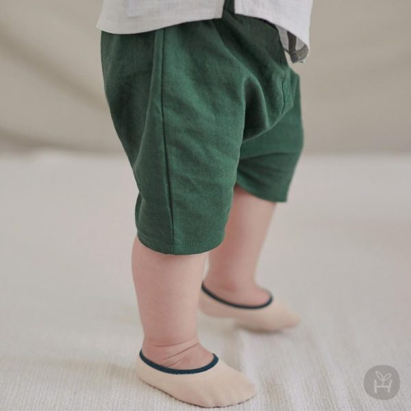 Pocon Pants - Green | Korean Kids Clothes - Imaryakids