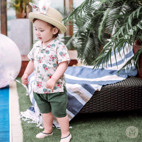 Pico set : shirts+pants | Korean Kids Clothes - Imaryakids