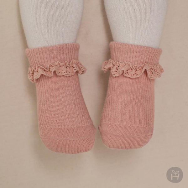 Shrea Socks - Pink | Korean Kids Clothes - Imaryakids