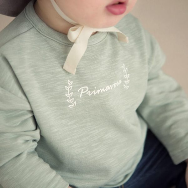 Theo T-Shirt - Green | Korean Kids Clothes - Imaryakids