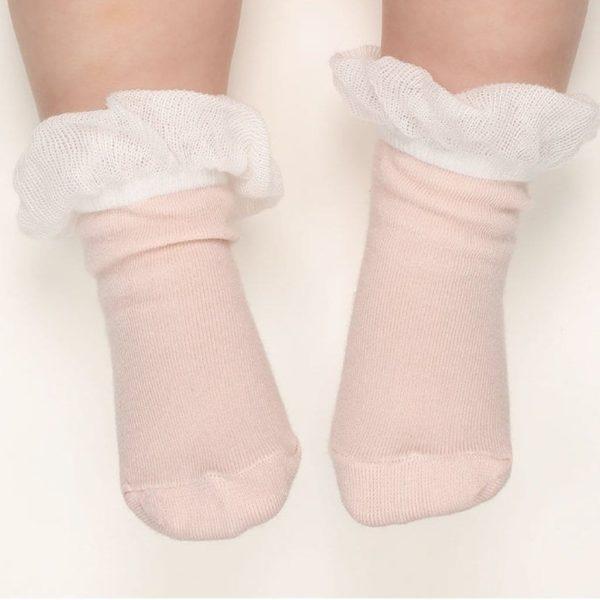 My Girl Ruffle Socks - Pink | Korean Kids Clothes - Imaryakids