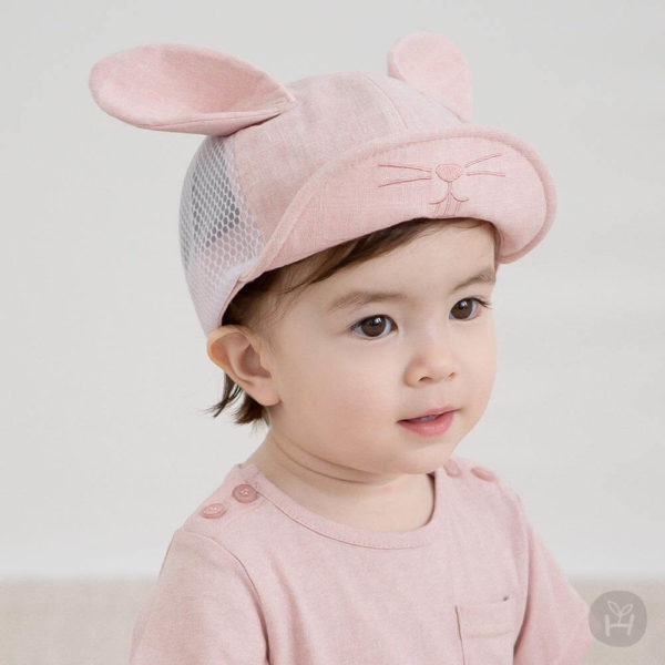 Laurian Mesh cap | Korean Kids Clothes - Imaryakids