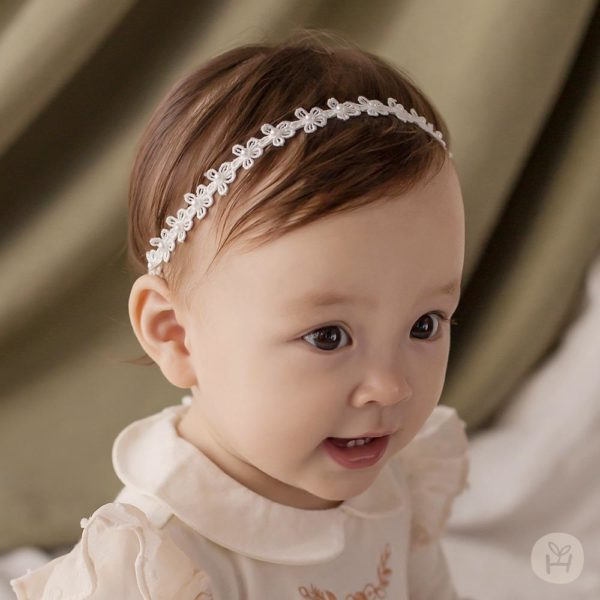 Julie Lace Hair Band | Korean Kids Clothes - Imaryakids