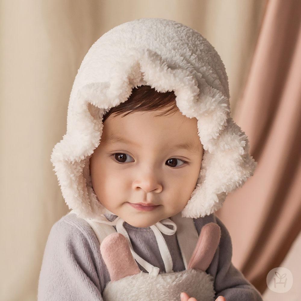 Happy Prince Karan Frill Winter Bornet | Korean Kids Clothes - Imaryakids