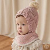 Happy Prince Molly Snow Bananabib - Pink | Korean Kids Clothes - Imaryakids