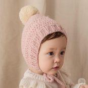 Happy Prince Nubo Helen Bell Knitting Hat | Korean Kids Clothes - Imaryakids