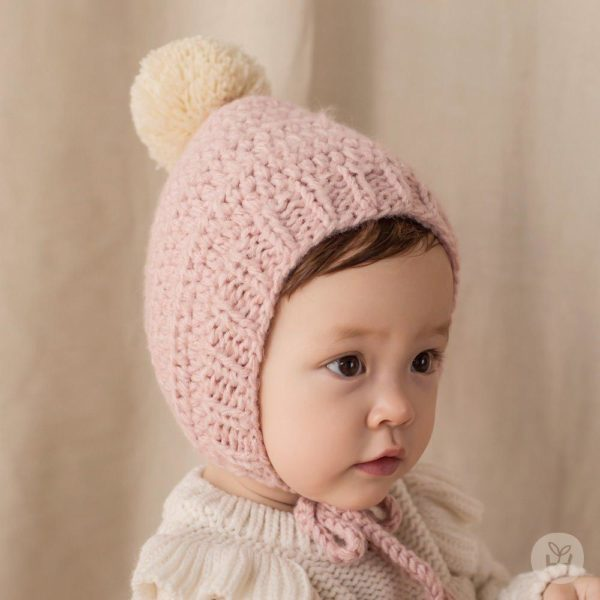 Happy Prince Nubo Helen Bell Knitting Hat | Korean Kids Clothes - Imaryakids