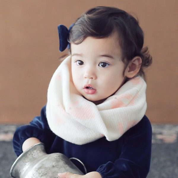 Rabbit Pattern Double-sided Warmer (Cream) | Korean Kids Clothes - Imaryakids